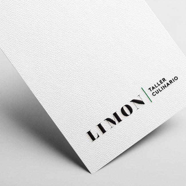 Logo Mockup on white business card